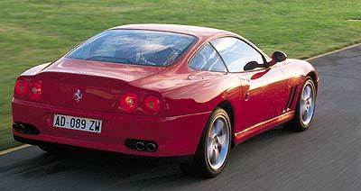 1997 Ferrari 550 Maranello picture