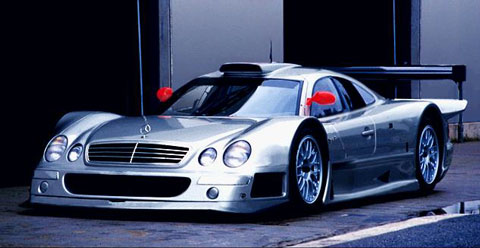 1998 Mercedes-Benz CLK-GTR picture