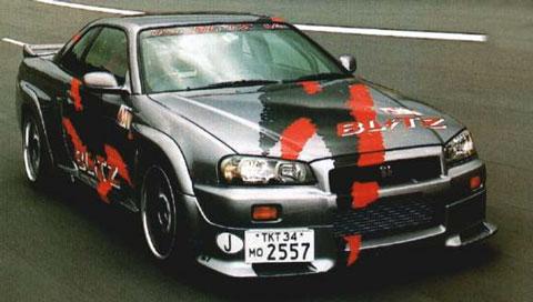 1999 Nissan Blitz Skyline R348 picture